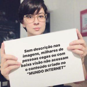 """Movimento Web para Todos lança mobilização """"Imagens que falam"""""""