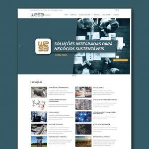 Marca, identidade visual e site w2s3.com.br são entregues