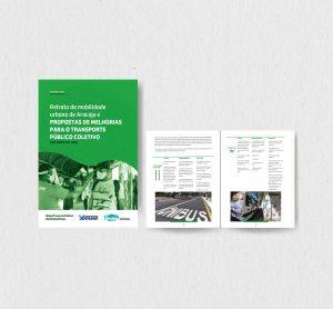 Diagramação – Retrato da mobilidade urbana de Aracaju